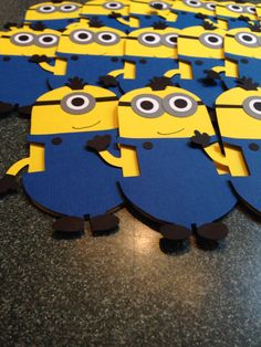 A personal favorite from my Etsy shop https://www.etsy.com/listing/210764253/minion-despicable-me-invitations-custom