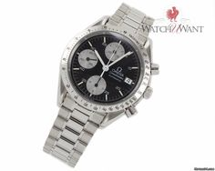 Omega Speedmaster Reduced Automatic Chronograph Date Ref. 3511.50 39mm Stainless Steel