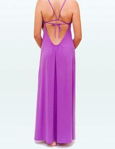 "The back of the ""Mia"" dress from Josa in Tulum, striking design! #ethicalfashion #slowfashion #boutiquemexico"