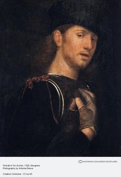 Giorgione, Portrait of An Archer (16th century)