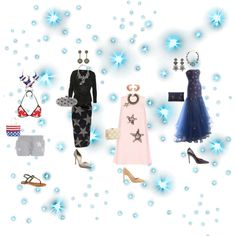Twinkle twinkle little star by daviddoff on Polyvore featuring polyvore, fashion, style, Vivienne Westwood Anglomania, Wildfox, Givenchy, Manolo Blahnik, ALDO, inge, Kayu, Oscar de la Renta, Forest of Chintz, Venessa Arizaga and ChloBo