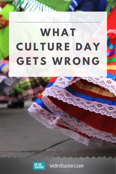 What Culture Day Gets Wrong. However fun your school's Culture Day might be, the reality is that events like these often have the opposite of their intended effect. #cultureday #socialstudies #classroom #classroomideas #supportingstudents #teaching Social Studies Projects, Culture Day, Person Of Color, Cultural Appropriation, Amazing Race, Anti Racism, Good Job, World Cultures, Events