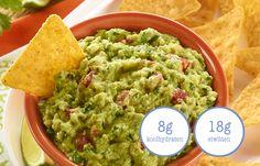 Slanke dipsaus met nacho`s