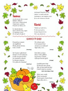 poezie despre fructe de toamna - Yahoo Image Search Results Learn English, Children, Kids, Journal, Education, Learning, School, Indian Summer, Raw Vegan