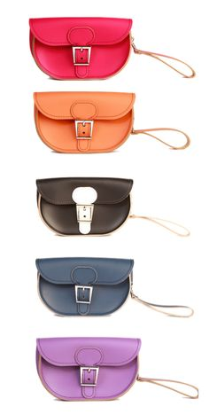 The British handbag invasion continues. Pick a stylish ready-made bag or design your own custom satchel with the make-your-own handbag option at Brit-Stitch.