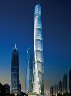 The Shanghai Tower by Gensler set to become the worlds 2nd tallest building