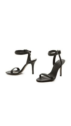 #AlexanderWang Antonia Ankle Strap Sandals / minimal perfection