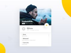 Music Player App Concept by Bartosz Pobocha