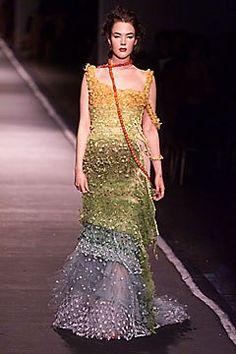 Jean Paul Gaultier Spring 2001 Couture Fashion Show - Ninja Sarasalo, Jean Paul Gaultier