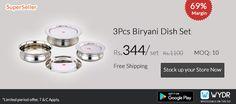 Biryani Dish Set with #Freeshipping on on #WYDR