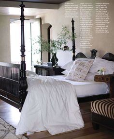 Erin Martin British colonial bed