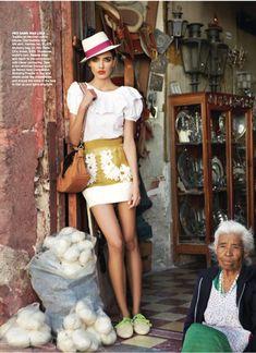 Alina Baikova for Vogue Australia March 2011 by Nicole Bentley