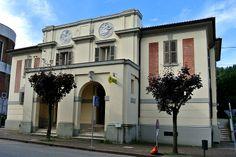 Predappio Nuova, Postgebäude (Architekt: Florestano di Fausto).