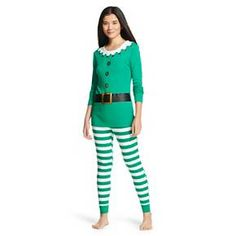 Women's Holiday Elf Pajama Set from target - is it weird that i want these?