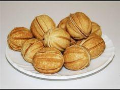 Russian Cookies : Nuts: Орешки со сгущенкой.Готовим вместе. - YouTube