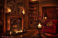 Home Interior Design Digital rendering of a library Fantasy rooms Environment concept art Fantasy art