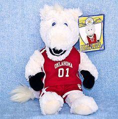 "Build A Bear University Of Oklahoma Sooners Boomer OU College Mascot 12"" Plush"