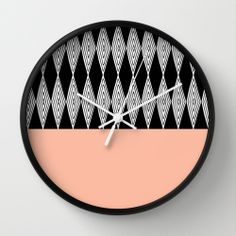 Goose eye 1 by Cecilia Andersson WALL CLOCK