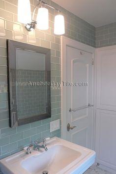 Solana Glass Subway Tile 3x6 Smooth Grey