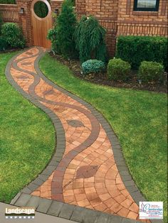 Design Ideas For Brick and Paving Stone Walkways - Landscape Express Woburn
