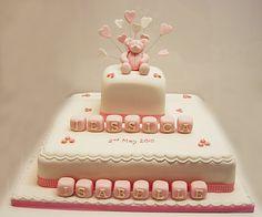 Large Christening Cake