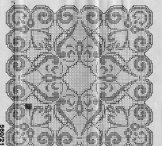 Cross Stitch Embroidery, Embroidery Patterns, Cross Stitch Patterns, Crochet Patterns, Crochet Squares, Filet Crochet, Doilies, Folk Art, Diy And Crafts