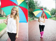 unique Senior Pictures Ideas For Girls | photography creative senior photography cute rain boots dallas senior ...