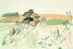 dionyssos:  David Hockney  Watercolor