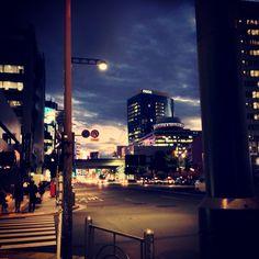 #sky #cloud #building #road #street #tokyo
