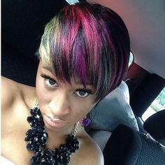 Awesome COLORS!!! On MUA: @ROLLINWITHSTONE Tag us #sheekwe to have your BEST style featured! . . .  #Hairdresser #Hairdo #Hairstyles #Selfie  #Mua #Makeup #Curlyhair #Hairstyle #Hairstylist #Hair #Haircut #Haircolor #NaturalHair #Shorthair #Longhair #HairDye #Hairsalon #Redhair #Wavyhair #Dope #Highlights #Instahair #pinkhair #barbers #bangs #Hairextensions #Blondehair #Sheeky #Letsgetsheeked