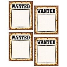 Western Wanted Posters Accents - Accents - Decoratives. Use this decorative artwork to dress up classroom walls and doors, label bins and desks, or accent bulletin boards. Wild West Activities, Abc Activities, Cowboy Theme, Western Theme, Classroom Walls, Classroom Themes, Anniversaire Cow-boy, Rodeo, Westerns
