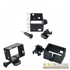 Buy Gopro Bacpac Standard Frame At Discount Rs.600 Features :- Sleek frame design for low profile, Frame mount is the smallest Cash on Delivery Hassle FREE To Returns Contact # (+92) 03-111-111-269 (BnW) #BnWCollections #Gopro #Bacpac #Standard #Frame #Discount