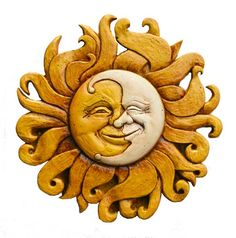 Sun Plaques|Sun Wall Decor|Sun Wall Art|Moon Wall Decor - Home