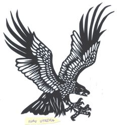 eagle paper cut - Google Search