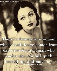 Confidence comes from experience