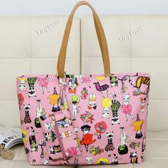 Casual Animation Cartoon Kitten Cool Style Cute Bag for Women DTH-361268