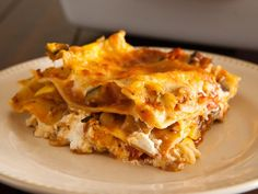 French Style Lasagna (made it with ricotta like normal lasagna instead of the French cheese, next time I'd add more veggies and make more sauce!) delicious!