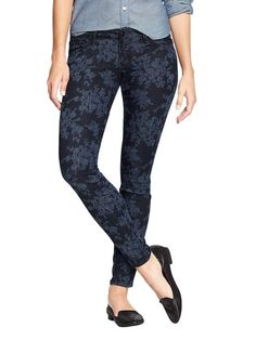 If you're new to printed jeans, may we suggest this damask version? It's super flattering. http://www.ivillage.com/join-flock/5-b-415283?cid=pin|8-23-13|41