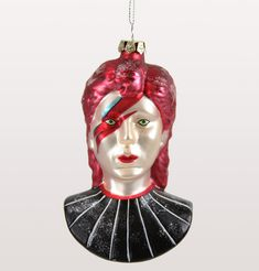 Trouva: Cody Foster & Co David Bowie Christmas Tree Bauble Retro Christmas Tree, Christmas Tree Baubles, Christmas Tree Decorations, Xmas, Christmas Time, Cody Foster, Prom Dress Stores, Halloween Trees, Christmas Traditions