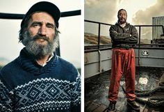 Crab #Portraits ... straight from the boats of The Deadliest Catch