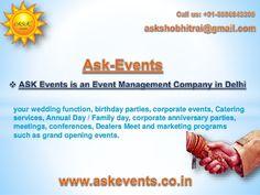 Wedding Planner, Wedding Decorator in Delhi NCR  #Birthday_party   #Wedding_planner  #event_organisers