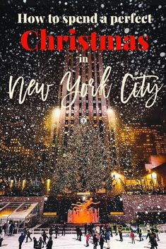 Christmas is the best time of year in NYC! There are so many beautiful lights, fun things to do and great things to eat. Here is the ultimate guide to NYC at Christmas and how to spend it alone or with your family.