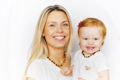 BEST PRICE Mom and baby natural amber beads necklaces set by CozyAmber on Etsy https://www.etsy.com/listing/253055311/best-price-mom-and-baby-natural-amber