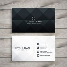 Business card design black - Modern black and white business card design – Business card design black Company Business Cards, Business Cards Layout, Professional Business Card Design, Minimal Business Card, Black Business Card, Elegant Business Cards, Business Design, Invitation Inauguration, Typographie Logo