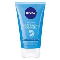NIVEA Mild schäumendes Waschgel. http://www.nivea.de/Produkte/gesichtspflege/Aqua-Effect/Normale-Haut-bis-Mischhaut/Mild-schaeumendes-Wasch-Gel #nivea #face #cleaning