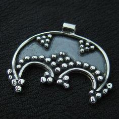 Silver Moravian lunula