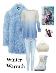 """Winter Warmth"" by kotnourka ❤ liked on Polyvore featuring Muk Luks, J Brand and Joie"