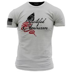 Grunt Style Stolen Valor's Grateful American T-Shirt This We'll Defend