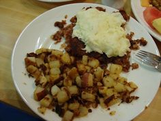 corned beef hash with egg whites @ Yolk in #Chicago