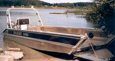 Aluminum Boat Plans | Model Name: Cope 24ft Landing Craft Kayak Boats, Canoes, Fishing Boats, Expedition Yachts, Landing Craft, Aluminum Boat Kits, Boat Trailer, Yacht Boat, Cool Boats